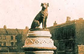 Brown Dog Statue