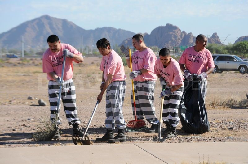 pink prison uniforms arizona