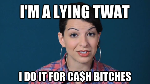 """Feminist icon Anita Sarkeesian of Feminist Frequency is often accused of using feminism for personal gain, evidenced in """"Gamergate"""""""