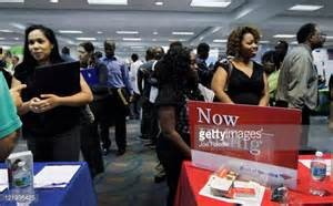 Women looking for job at job fair